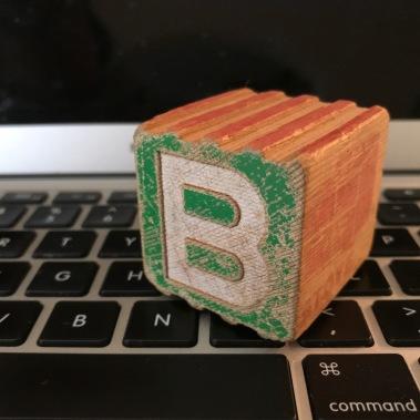 b block